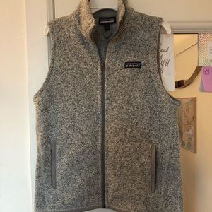 Patagonia better sweater grey small vest